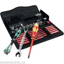 WERA 35 Pce Kraftform Kompakt VDE Maintenance Screwdriver Socket & Ratchet Tools