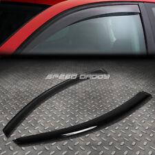 For 98 10 Vw Beetle Pq34 Smoke Tint Window Visor Shadesun Windrain Deflector Fits 2004 Volkswagen Beetle