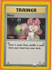 Unlimited Pokemon 1 x MARY  # 87/111 Rare card Neo Genesis Never Played