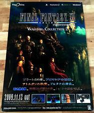 Final Fantasy XI Online RARE PS2 XBOX 360 PC 51.5 cm x 73 cm Jap Promo Poster #4