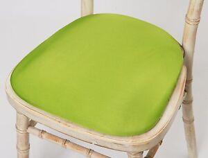 Lime Chiavari Chair Spandex Seat Pad Covers, Shower Caps  100 pcs