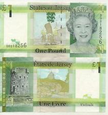 Billet banque JERSEY 1 POUND 2010 NEUF NEW UNC