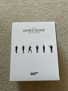 The James Bond Collection 1-24 (DVD, 2017)