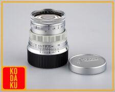 Leica summicron 50mm 5cm F2 Rigid V1 Lens leitz wetzlar Tested