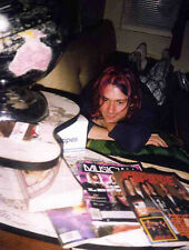 NIRVANA POSTER PAGE KURT COBAIN 1992 . NEVERMIND . N19