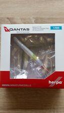 Herpa 529914 - 1/500 Boeing 747-400 Rio 2016 - Qantas - Neu