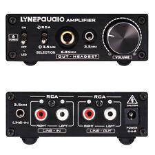 Portable Headphone Headset Amplifier Stereo HiFi Amp Volume Control withRCAInput