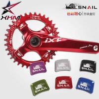 SNAIL Bicycle Crank Chainwheel Screws Cover Protect Cap MTB Road Bike Crankset