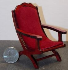 Dollhouse Miniature Campeachy Chair Mahogany 1:12 scale D27 Dollys Gallery