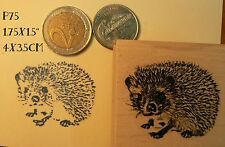 Hedgehog rubber stamp. P75