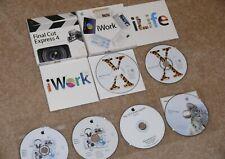 Apple Software Lot: OS X 10.6 Snow Leopard,OS X 10.2, iLife & iWork &Final Cut E