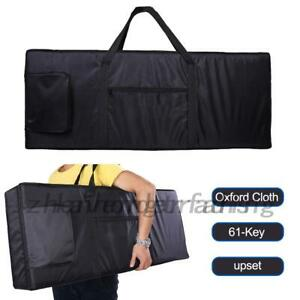 New Portable 61-Key Keyboard Electric Piano Padded Case Gig Bag Oxford Cloth AU
