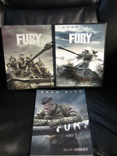 Fury [Japan] Amazon.jp Exclusive w/Slip 2 Disc Blu-Ray Steelbook Region A Mint