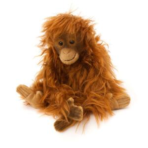 Orang-Outan - Souple Mohair de Collection Jouet Doux Par Kosen - 5710
