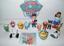 Paw Patrol Figure Set of 14 Kit with New Characters, Vehicles, Sticker and Ring!