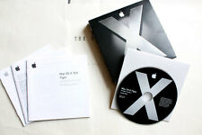 Apple Mac OS X 10.4.6 Tiger • Full Release | Vollversion • DVD in Box