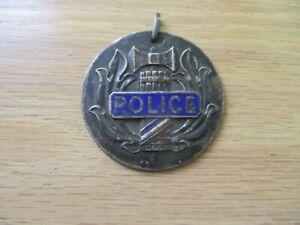 VINTAGE FRENCH POLICE MEDAL - POLICE NATIONALE - ENAMELING - WWI?
