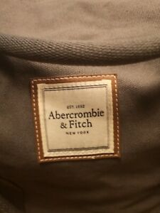 ABERCROMBIE & FITCH WEEKENDER HOLDALL SPORTS DUFFLE BAG - Grey