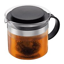 Bodum Bistro Nouveau Herbal Tea Pot Maker, 1.5L, Black