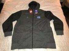 7e9f14d917f551 Jordan Nike Men s North Carolina Tar HEELS Full Zip Jacket Hoodie Size M XXL