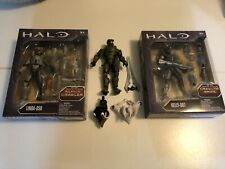 Mattel Halo Master Chief, Linda And Kelly Alpha Crawler Series Action Figures