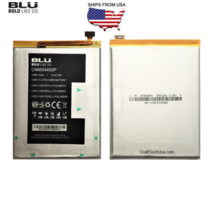 "OEM BLU Li-POLYMER Battery C86654400P for  BLU G9 6.3"" Dual-SIM 64GB Smartphone"