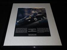 2001 Pontiac Grand Am GT Framed 11x14 ORIGINAL Advertisement