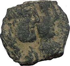 King Rabbel II Gamilat Arab Caravan Kingdom of Nabataea 101AD Greek Coin i50438