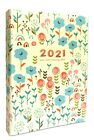 2021 A6 Week to view Diary Schedule Organiser planner diary with sticker book