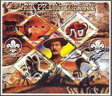 Haiti 2005 Scouting B. Powell Prehistory Art Sculpture Drawings MNH** Privat