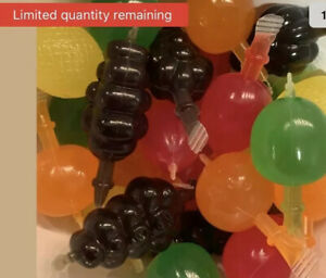 TIK TOK CANDY Dely Gely Fruit Jelly TikTok 5 Pieces BLOWOUT SALE