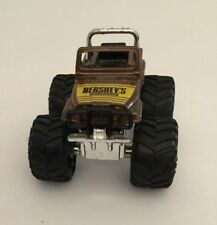 VINTAGE Hershey's Chocolate 1988 Jeep Monster Truck Hartoy HONG KONG NR MINT