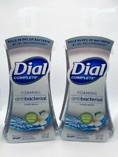 2 Dial Complete Foaming Hand Soap Soothing White Tea Scent 7.5 FL OZ Each