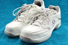 CONVERSE WORK Composite Toe White Leather Shoes Size 7W Men's 9W Womens Unisex