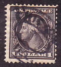 US Scott 342 old $1 Washington U/F CV $100