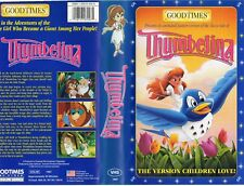 THUMBELINA - VHS - NTSC - NEW - Never played! - Original U.S.A. release