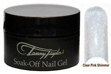 Tammy Taylor Soak Off Gel Clear Pink with Shimmer .5oz - M0242