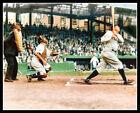 Babe Ruth Griffith Stadium Photo 8X10 Yankees COLORIZED