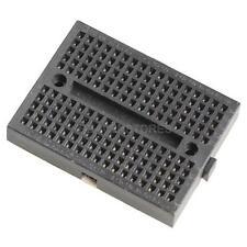 Mini Nickel Plating Breadboard 170 Tie-points for Arduino Shield Black hv2n