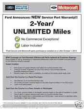 NEW OEM 04-08 Ford F-150 Third Brake Light Lamp w/ NEW Seal Gasket Weatherstrip