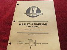 Massey Ferguson 670 690 698 Tractor I&T Shop Manual
