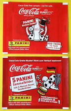 Panini EURO EM 2012 - Tüten Coca Cola Deutsch Neuer + international NEU !