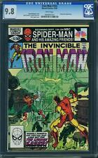 Iron Man #153 CGC 9.8 1981 Avengers! Thor! Robert Downey! B9 1 910 cm