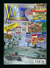 H&C Vae Victis No 7 Wargame Magazine w Uncut game Abbeville 1940 WWII