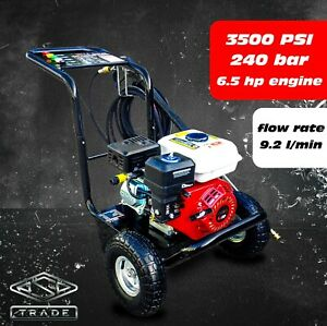 Petrol Pressure Washer - 3500PSI / 240BAR Power Jet Wash