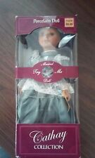 Cathay Collection Porcelain Musical Doll - Maya - Complete in Box
