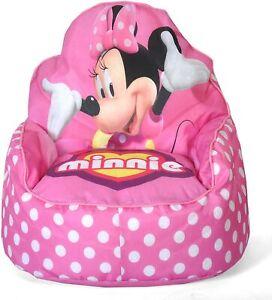 Sofá Sillón Para Niñas Minnie Mouse Toddler Bean Bag Sofa Chair Girls Pink Chair