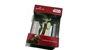 Hallmark Yoda Starwars Christmas Tree Ornament