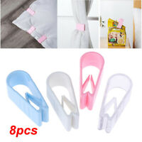 8Pcs Quilt Cover Gripper Without Needle Bed Duvet Covers Sheet Clip Clamp BC
