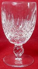 """WATERFORD crystal COLLEEN short stem claret WINE GOBLET or GLASS 4-3/4"""""""
